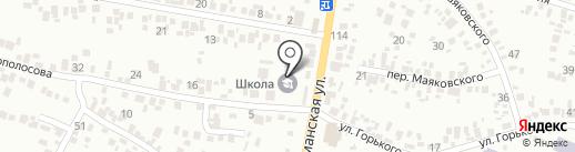 Гімназія №3 на карте Новомосковска