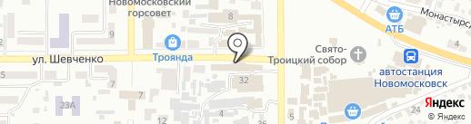 Эльдорадо на карте Новомосковска