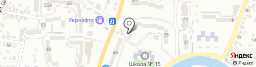 Ветаптека на карте Новомосковска