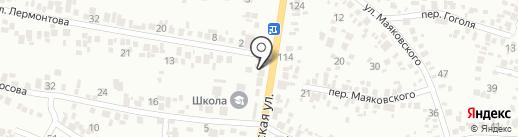 Автодруг на карте Новомосковска