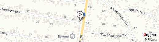 Comfort line на карте Новомосковска