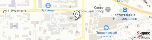 EconomClass на карте Новомосковска