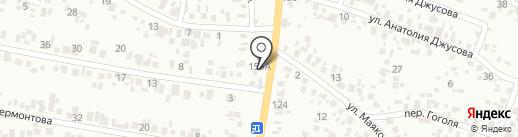 Всё авто на карте Новомосковска