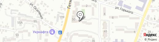 ПринтерPLUS на карте Новомосковска