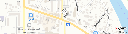 Техносеть F5 на карте Новомосковска