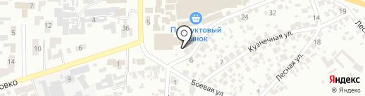 Айсберг на карте Новомосковска