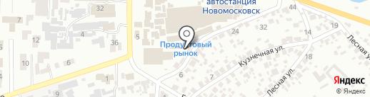 Эко-Самарь на карте Новомосковска