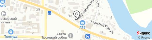 Цех по изготовлению памятников на карте Новомосковска