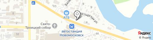 Шиносервис+ на карте Новомосковска