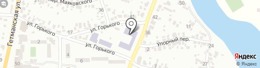 Професійне-технічне училище №48 м. Новомосковська на карте Новомосковска