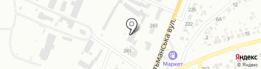 Лидер ПС на карте Новомосковска