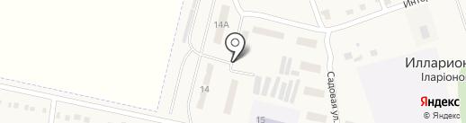 Хозяйственный магазин на карте Илларионово
