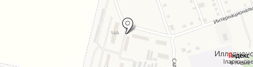 Вега на карте Илларионово
