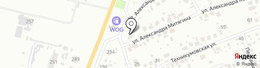 Frost на карте Новомосковска