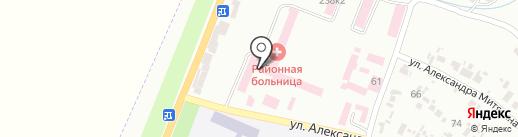 Дніпропетровське обласне бюро судово-медичної експертизи на карте Новомосковска