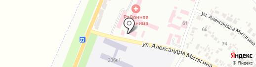 Салон ритуальных услуг на карте Новомосковска