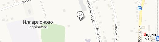 ДЮСШ Синельниківського району на карте Илларионово