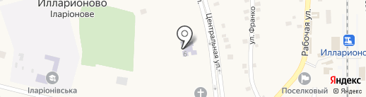 Катюша на карте Илларионово