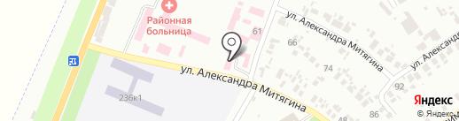 Новомосковський міськрайонний відділ лабораторних досліджень на карте Новомосковска