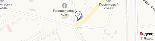 Фармація, КП на карте Илларионово