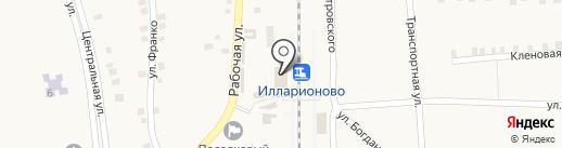 Банкомат, АБ Експрес-Банк на карте Илларионово