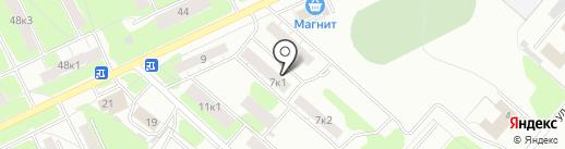 Лапландия на карте Твери