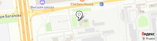 Iriska на карте Твери