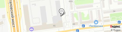 Smart на карте Твери