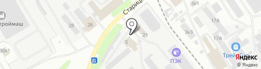 Автомир Тверь на карте Твери