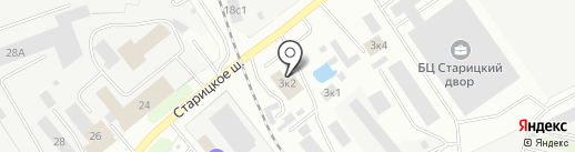 Магазин по продаже метизов на карте Твери
