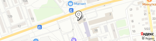 Рябеевская поляна на карте Твери