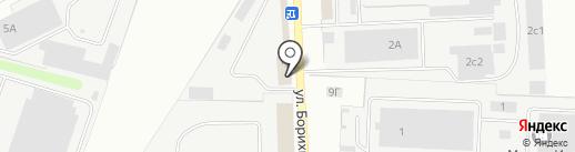 Проф Клининг на карте Твери