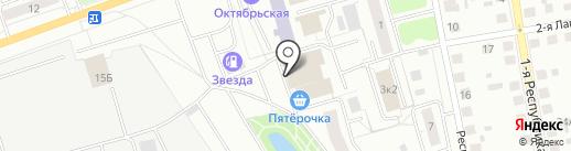 ВОЯЖ на карте Твери