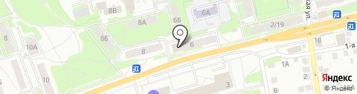 Ксюша на карте Твери