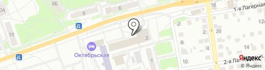 Лилия на карте Твери