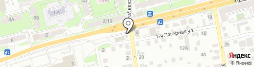 Эдельвейс на карте Твери