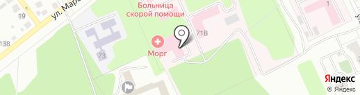 Клиническая больница скорой медицинской помощи на карте Твери