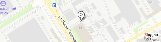 Промпоставка на карте Твери