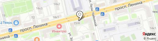 Мобиком на карте Твери