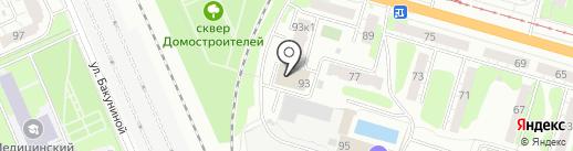 Партнёр на карте Твери