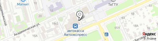 Мастерская по ремонту обуви на карте Твери