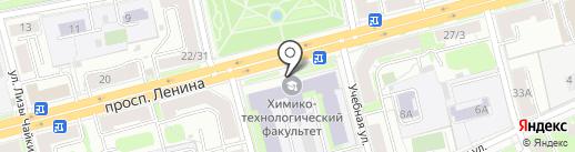 Технополис на карте Твери