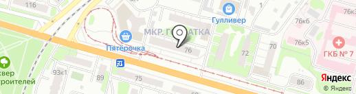 Городская стоматология на карте Твери