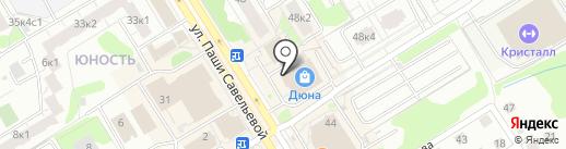Магазин сумок на карте Твери