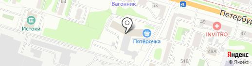 Автоюрист-Тверь на карте Твери