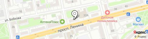 Минутка на карте Твери