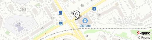 Магнит Косметик на карте Твери