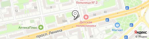 Дом и Сад на карте Твери
