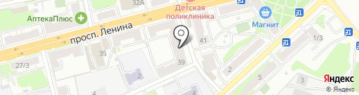 Шарм на карте Твери