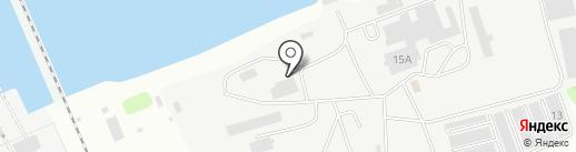 Тверское подворье на карте Твери